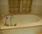 plage de baignoire